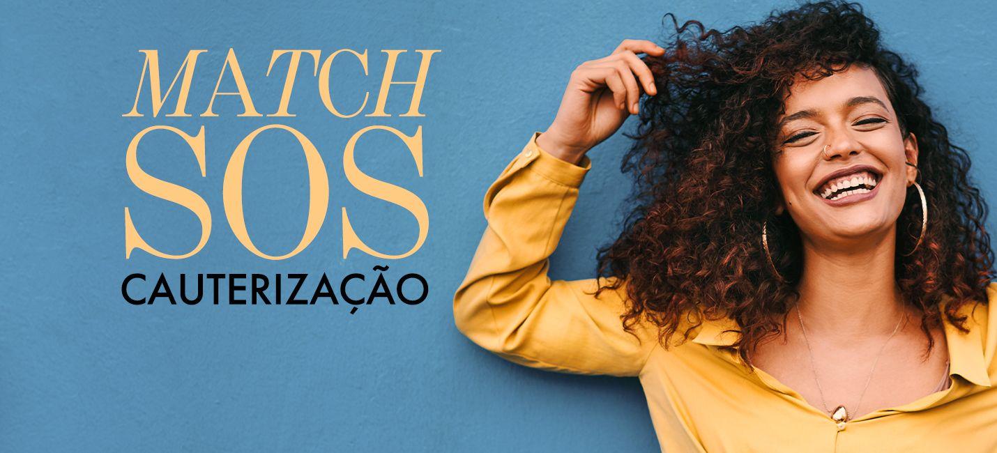 Match SOS Cauterização: o tratamento para cabelos danificados de O Boticário