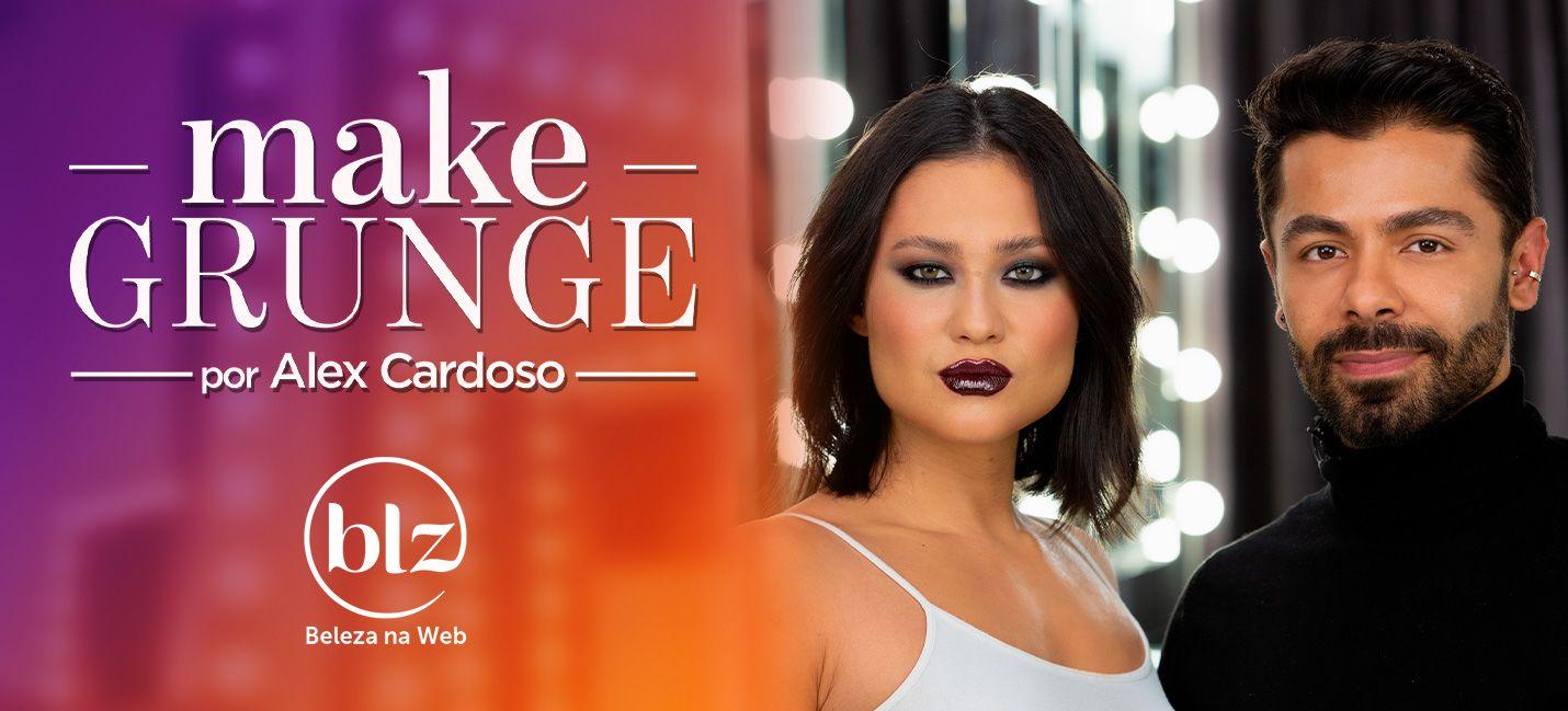 Maquiagem Grunge style por Alex Cardoso