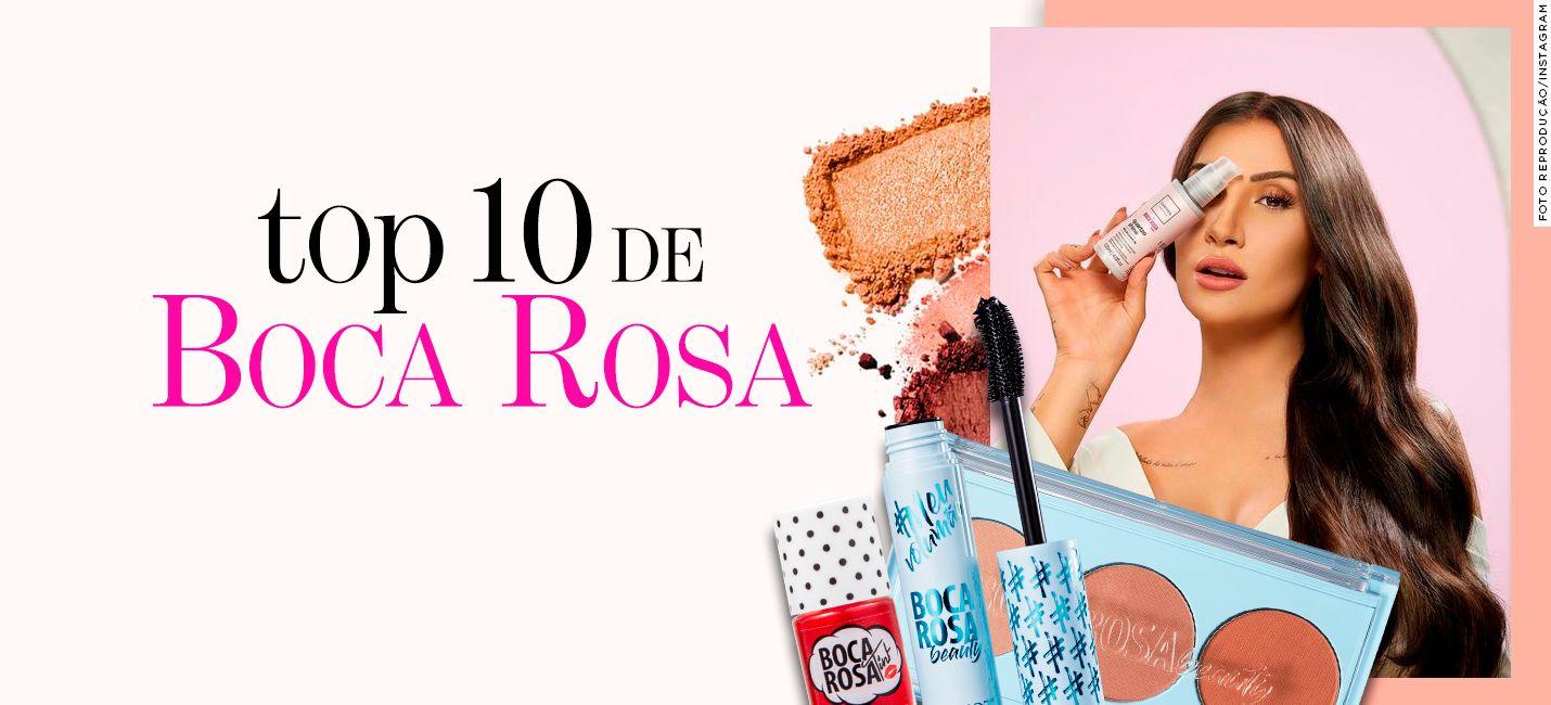 Top 10 de Boca Rosa: os mais vendidos