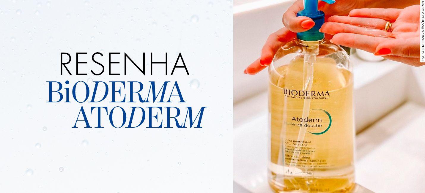 Resenha: óleo de banho de Bioderma Atoderm