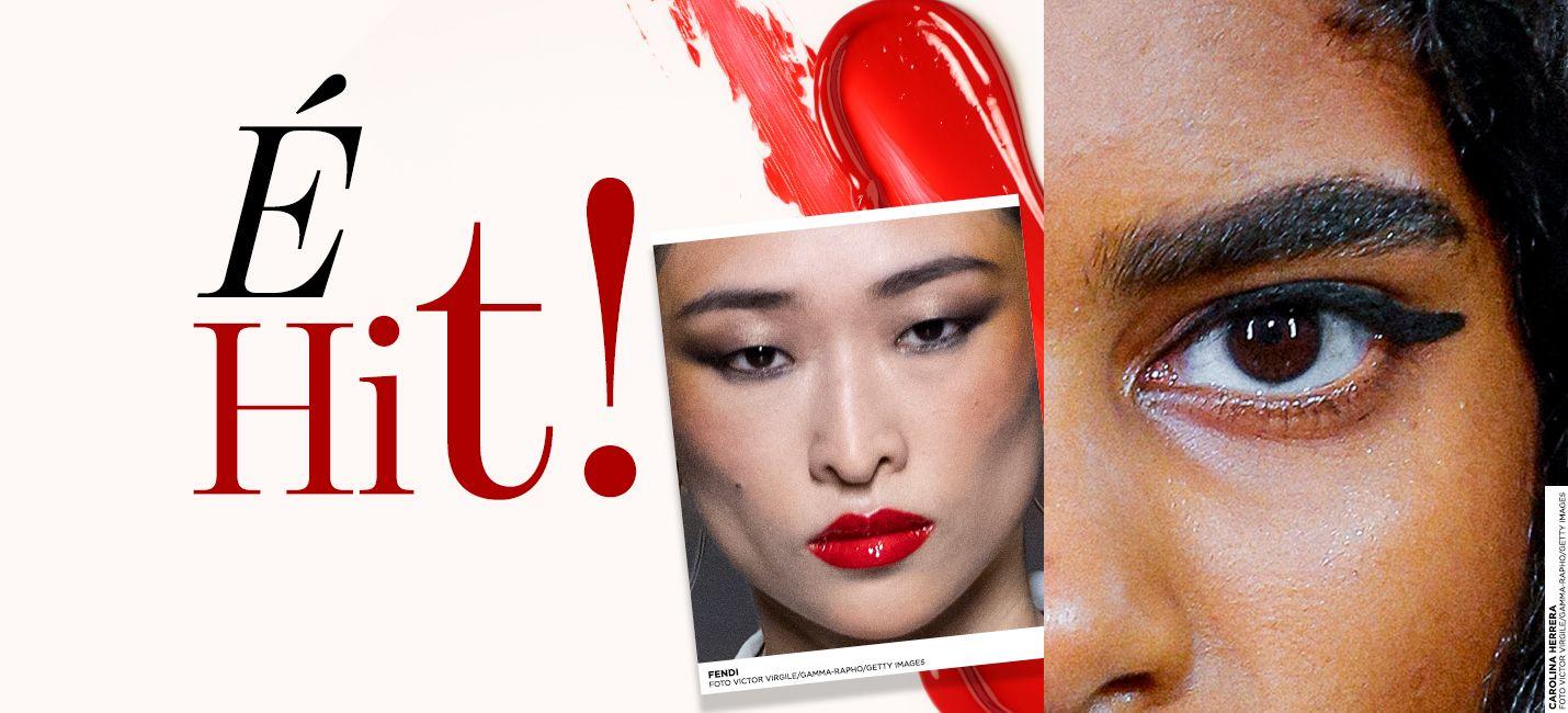 Apostas de tendências de beleza da Paris Fashion Week