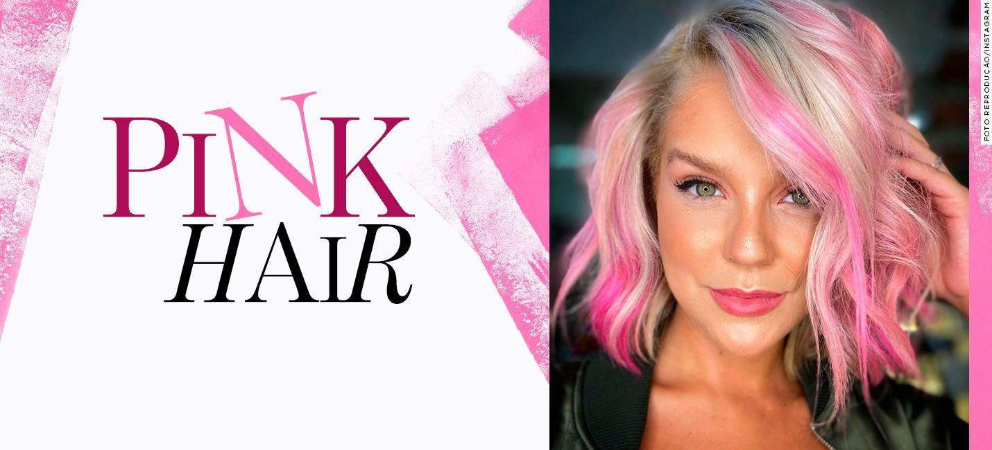 Tudo sobre o cabelo rosa claro de Gabi Lopes