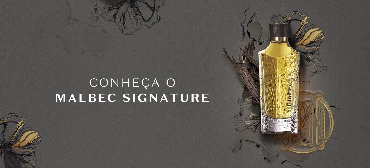 Malbec Signature é o primeiro eau de parfum da marca Malbec