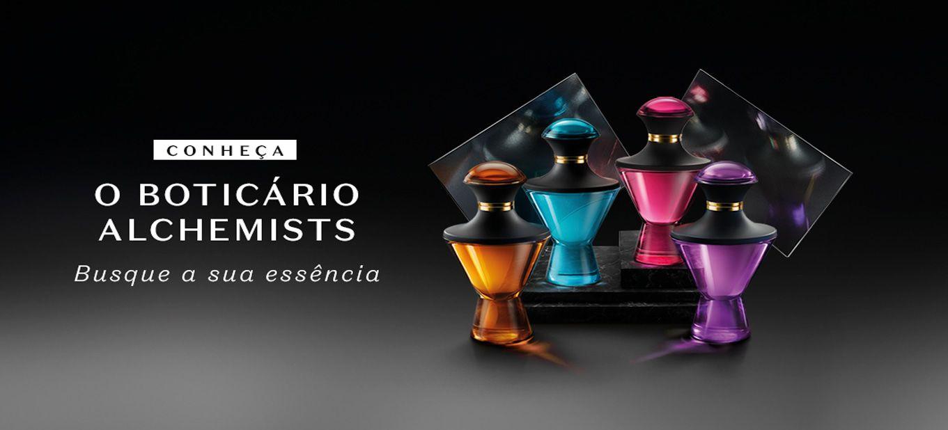 O Boticário reúne a excelência da perfumaria mundial em Alchemists