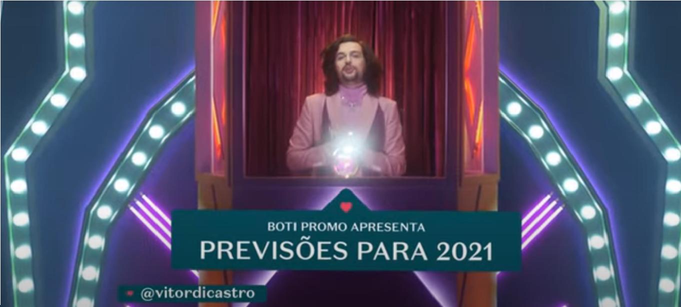 A Boti Promo do Boticário apresenta: previsões para o seu signo em 2021 com Vítor diCastro