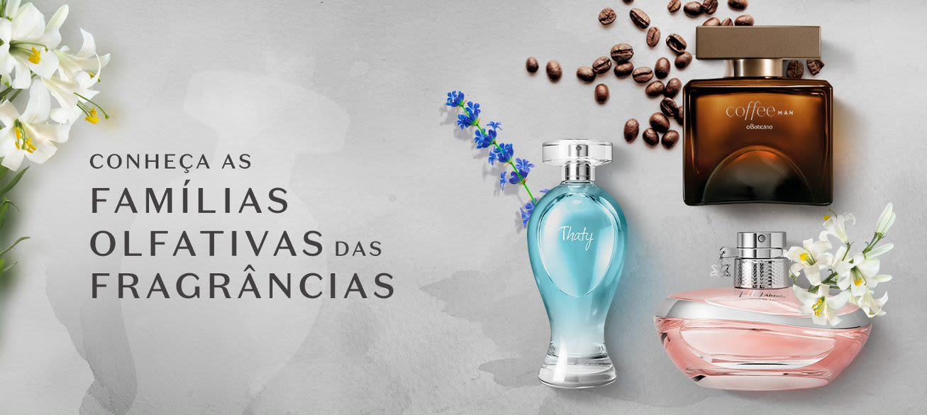 Por dentro da perfumaria: conheça as famílias olfativas das fragrâncias