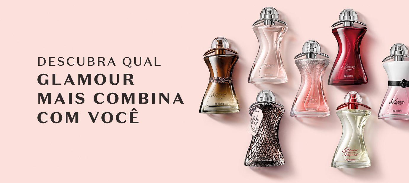 Descubra qual fragrância de Glamour combina com você