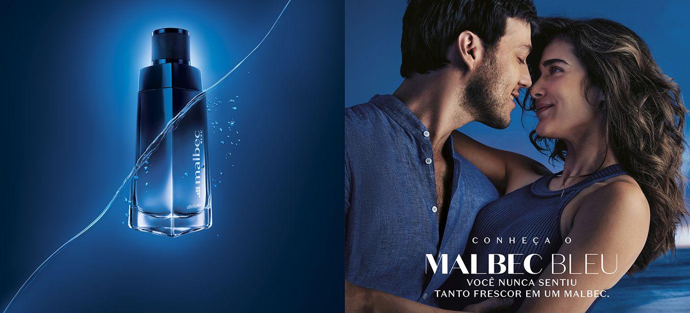 Malbec Bleu é versão refrescante do maior ícone da perfumaria masculina