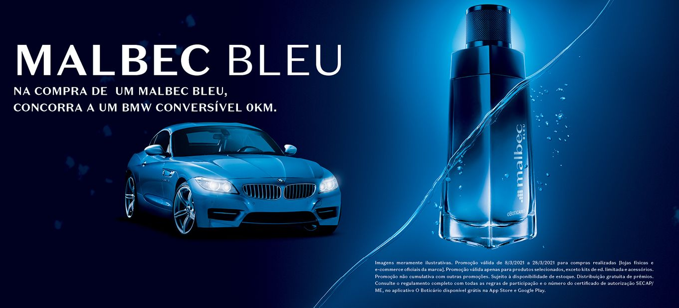 Promoção Malbec Bleu: saiba como concorrer a um BMW