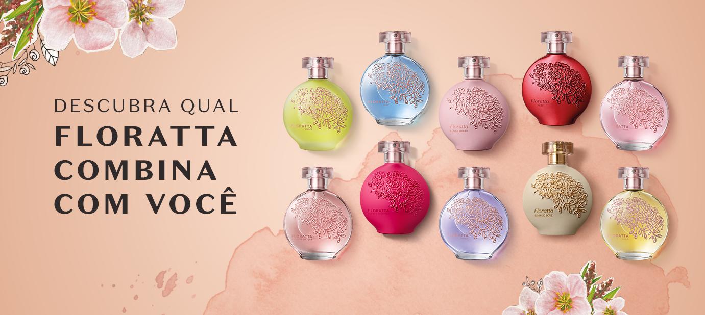 Descubra qual fragrância de Floratta combina mais com você