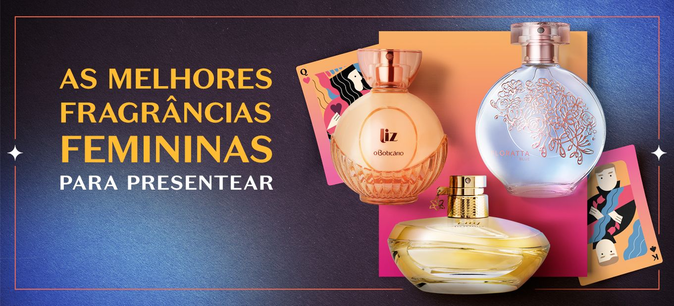 Presente para namorada: aposte em perfumaria para demonstrar seu amor