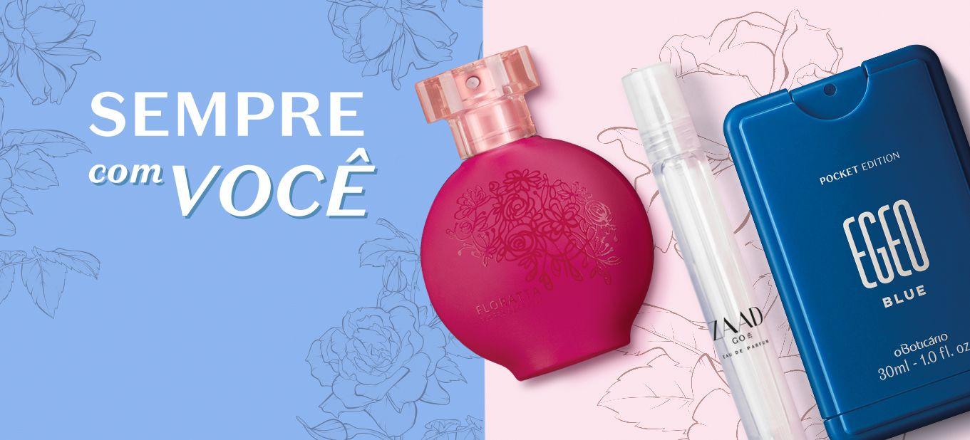 As vantagens das fragrâncias pocket size e miniaturas