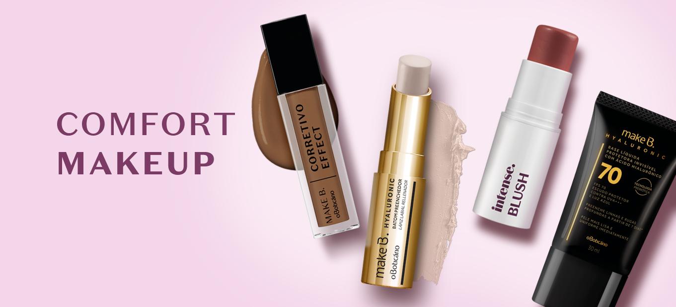Comfort makeup: tutorial de maquiagem leve