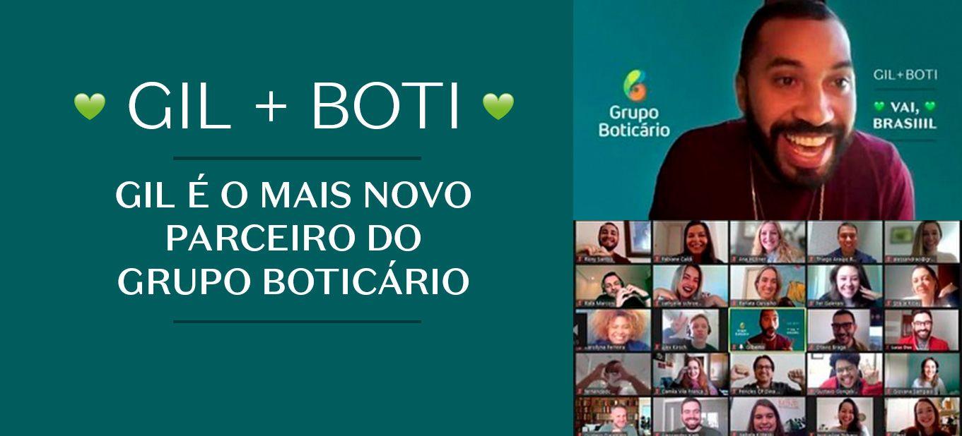 Gil do Vigor é o mais novo parceiro do Grupo Boticário