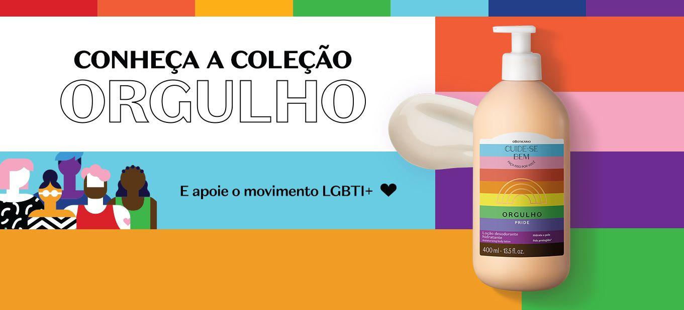 Coleção Orgulho é multicategoria em apoio à população LGBTI+