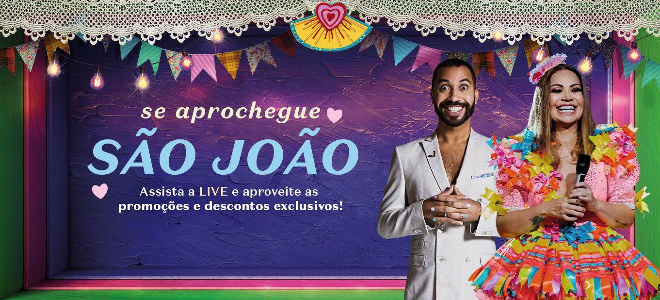 Live de São João Boticário com show de Solange Almeida e Gil do Vigor