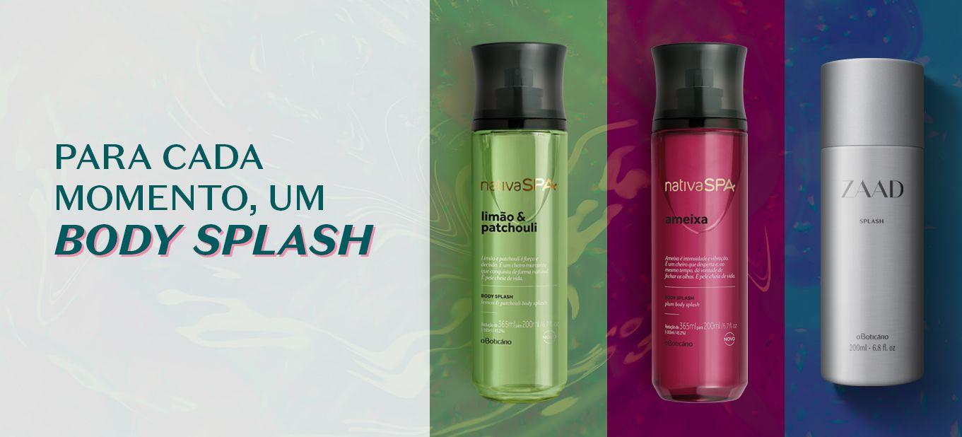 Body Splash: uma dose de frescor e perfumação na rotina