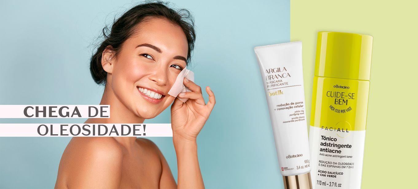 Top produtos para a pele oleosa