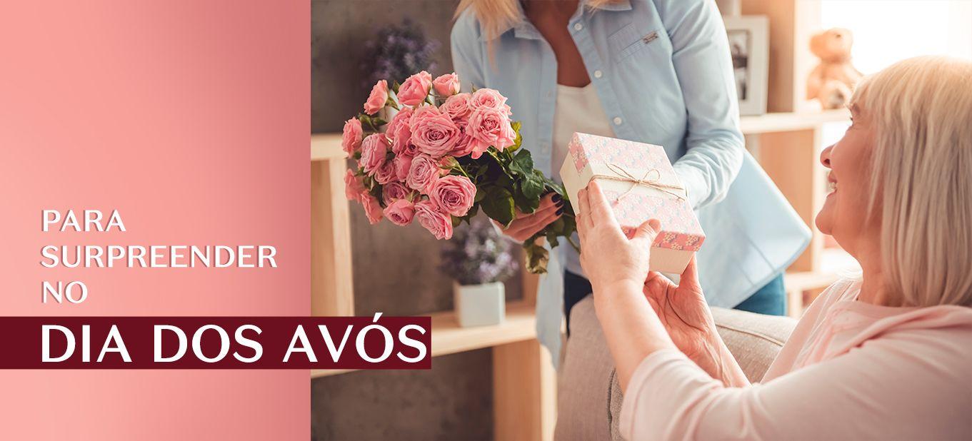 Fragrâncias para Dia dos Avós: eau de parfum, desodorante colônia, perfume, entre outros
