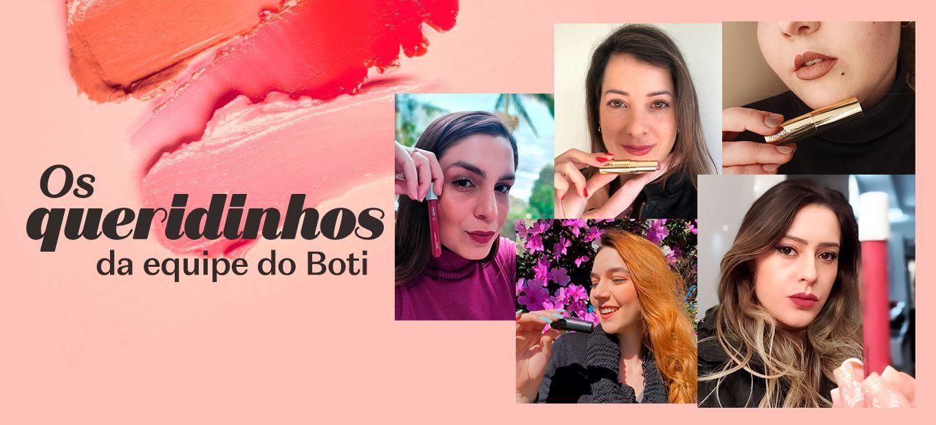 Semana do Batom: os batons queridinhos pela equipe do Boti
