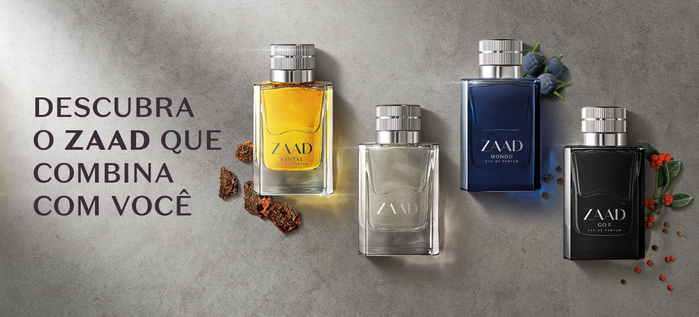 Qual fragrância de Zaad combina com você
