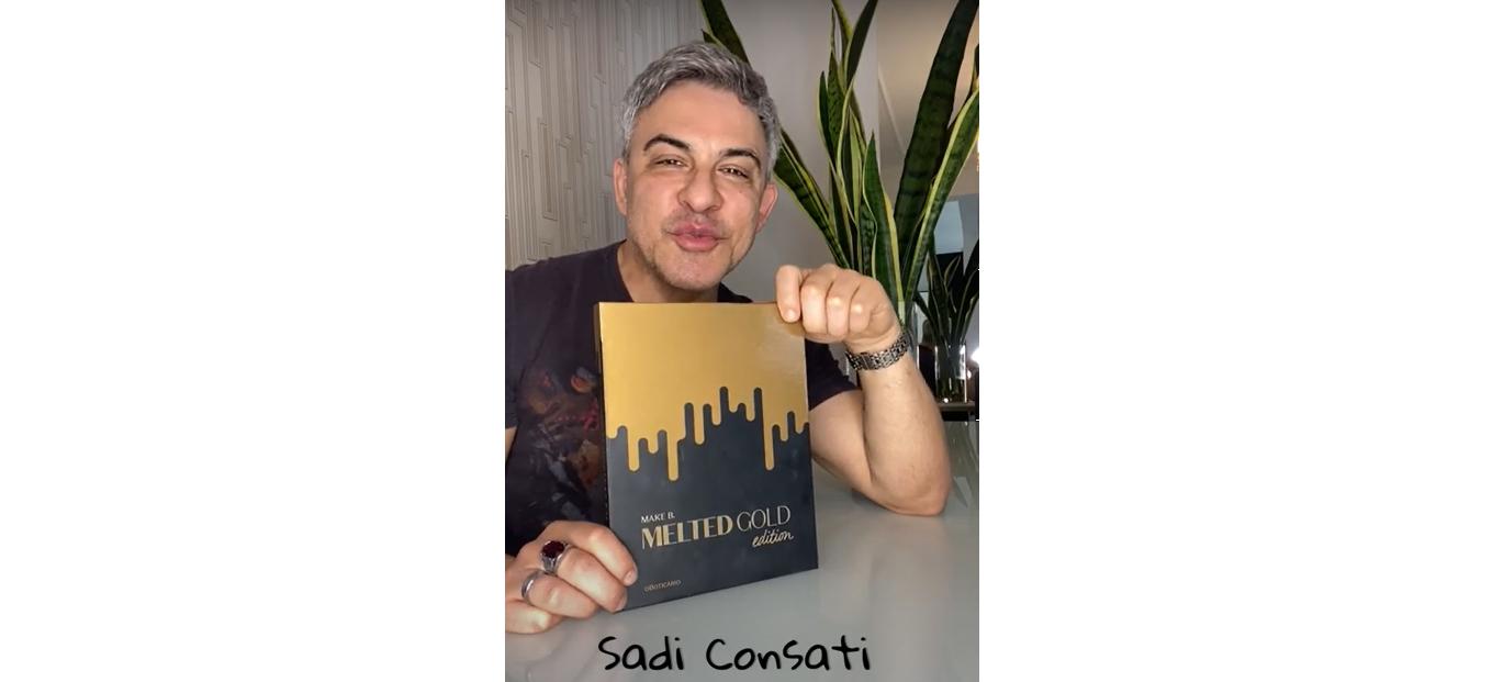 Sadi Consati - Paleta de maquiagem Melted Gold