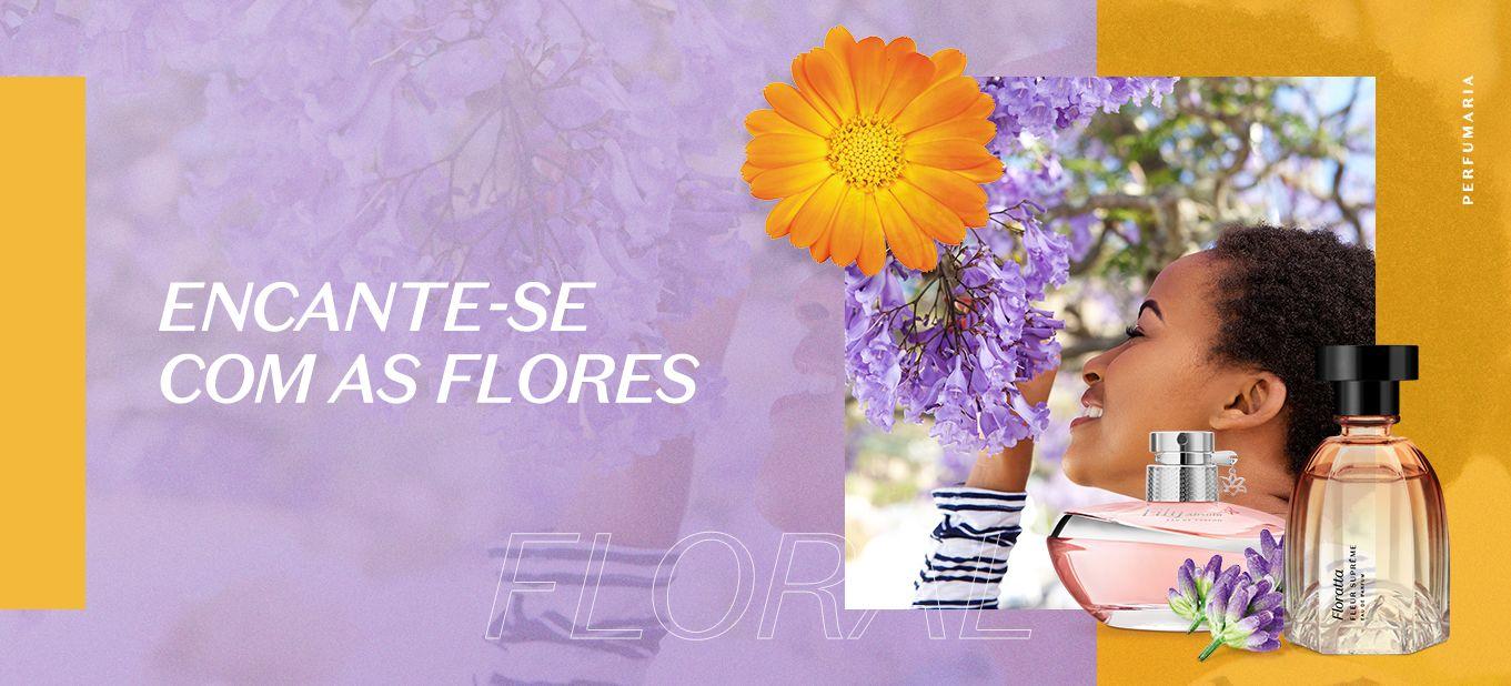 Fragrância floral: seleção de itens para você conhecer