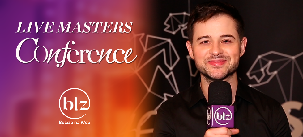 Live Masters Conference com experts em mechas