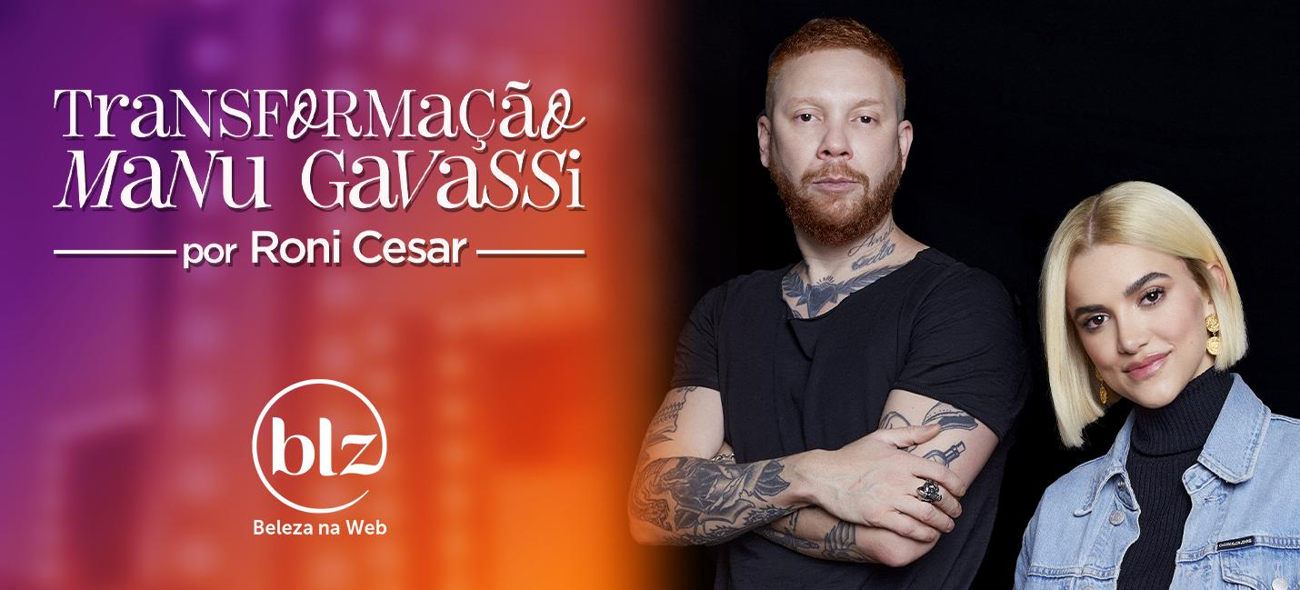 Manu Gavassi loira por Roni Cesar e Redken