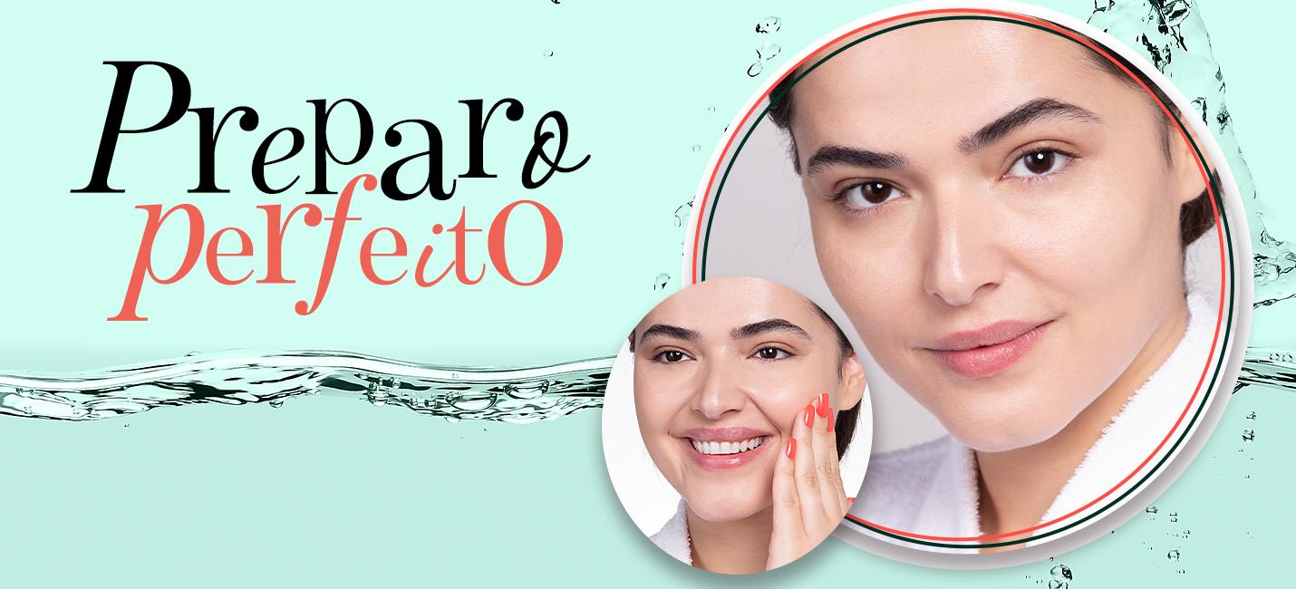 Como preparar a pele para maquiagem