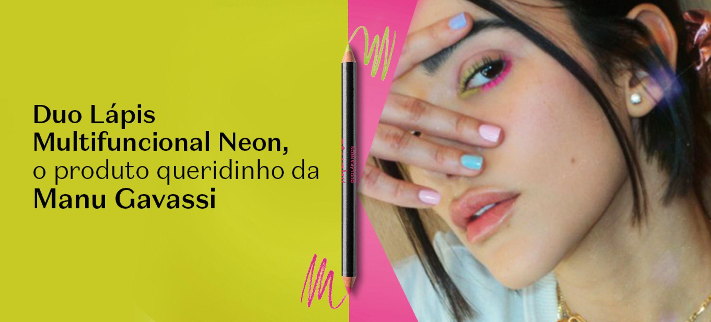 Duo Lápis Neon: faça maquiagem neon nos olhos de maneira criativa