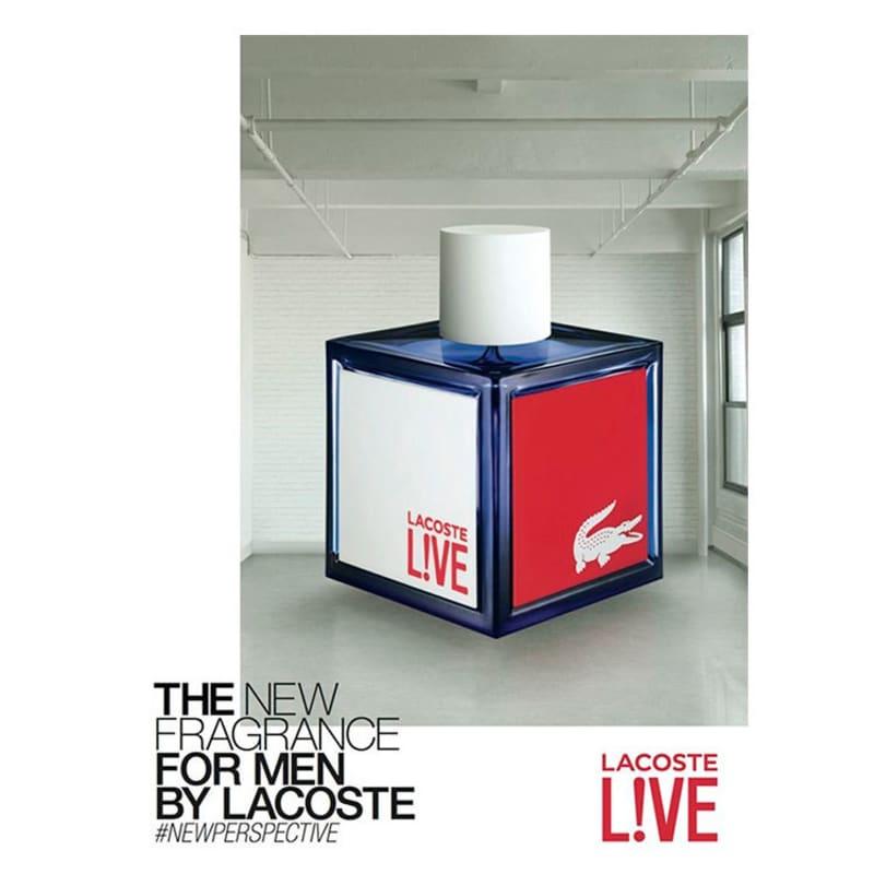 100ml Eau Live Perfume Masculino Toilette Lacoste De OPTluwXkZi