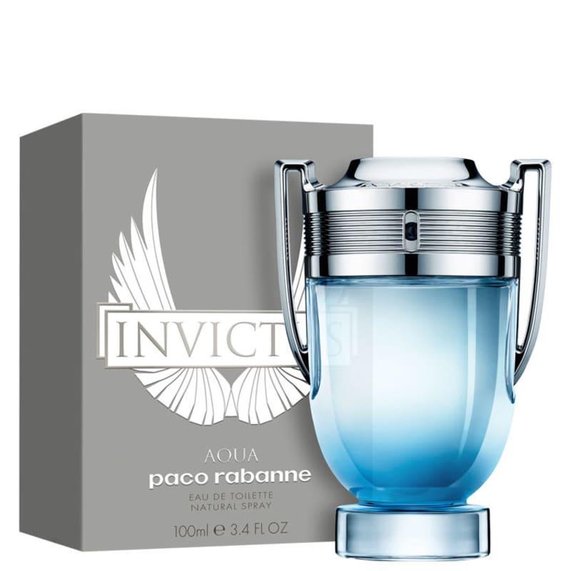 Eau Aqua Perfume Paco Masculino 100ml Invictus Rabanne Toilette De R35jq4LA