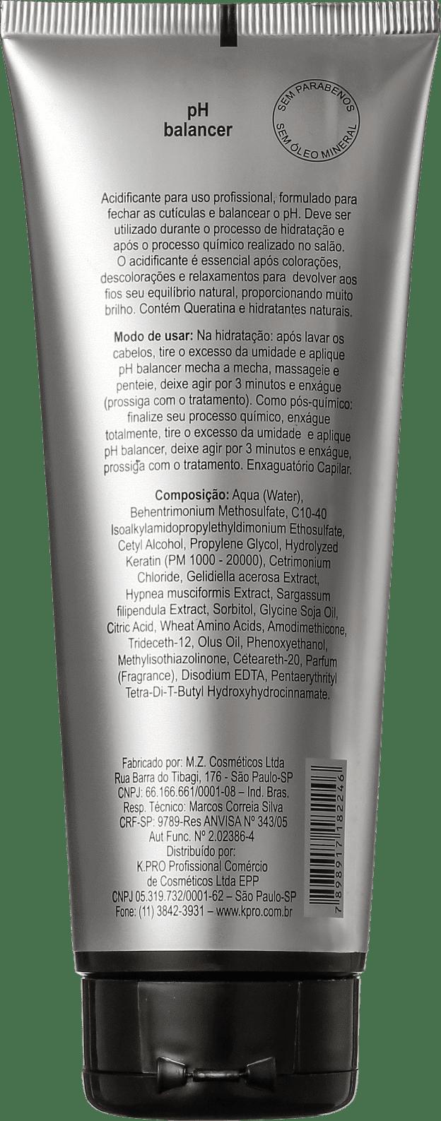 71752ba36 K.Pro pH Balancer Acidificante - Tratamento Capilar 230g