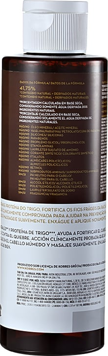 Korres Magnesium   Wheat Protein - Shampoo sem Sulfato 250ml bb20cc043