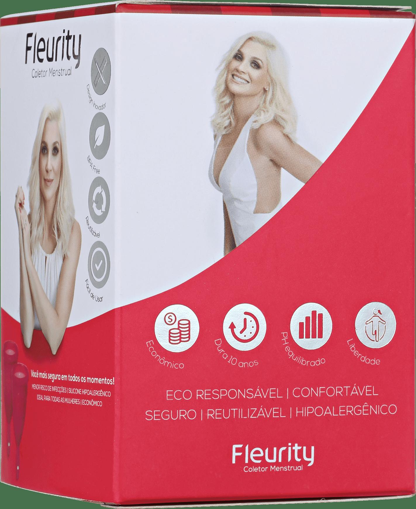 51b7c47b7 Fleurity Tipo 1 (+30 anos ou com filhos) - Coletor Menstrual (2
