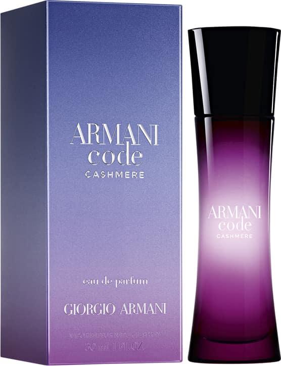 poistomyynti muutaman päivän päässä nauhoittaa sisään Armani Code Cashmere Giorgio Armani Eau de Parfum – Perfume Feminino 30ml