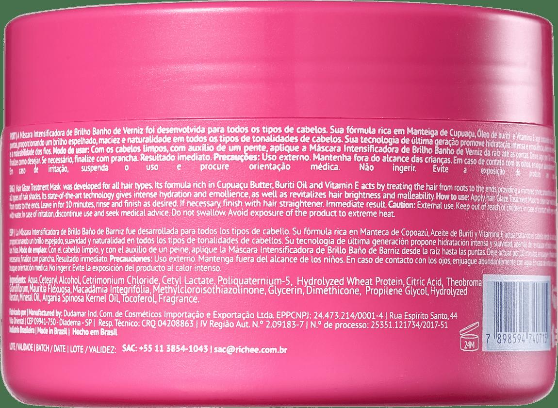 30024952f Richée Professional Nano Botox Repair Banho de Verniz - Máscara Capilar 300g
