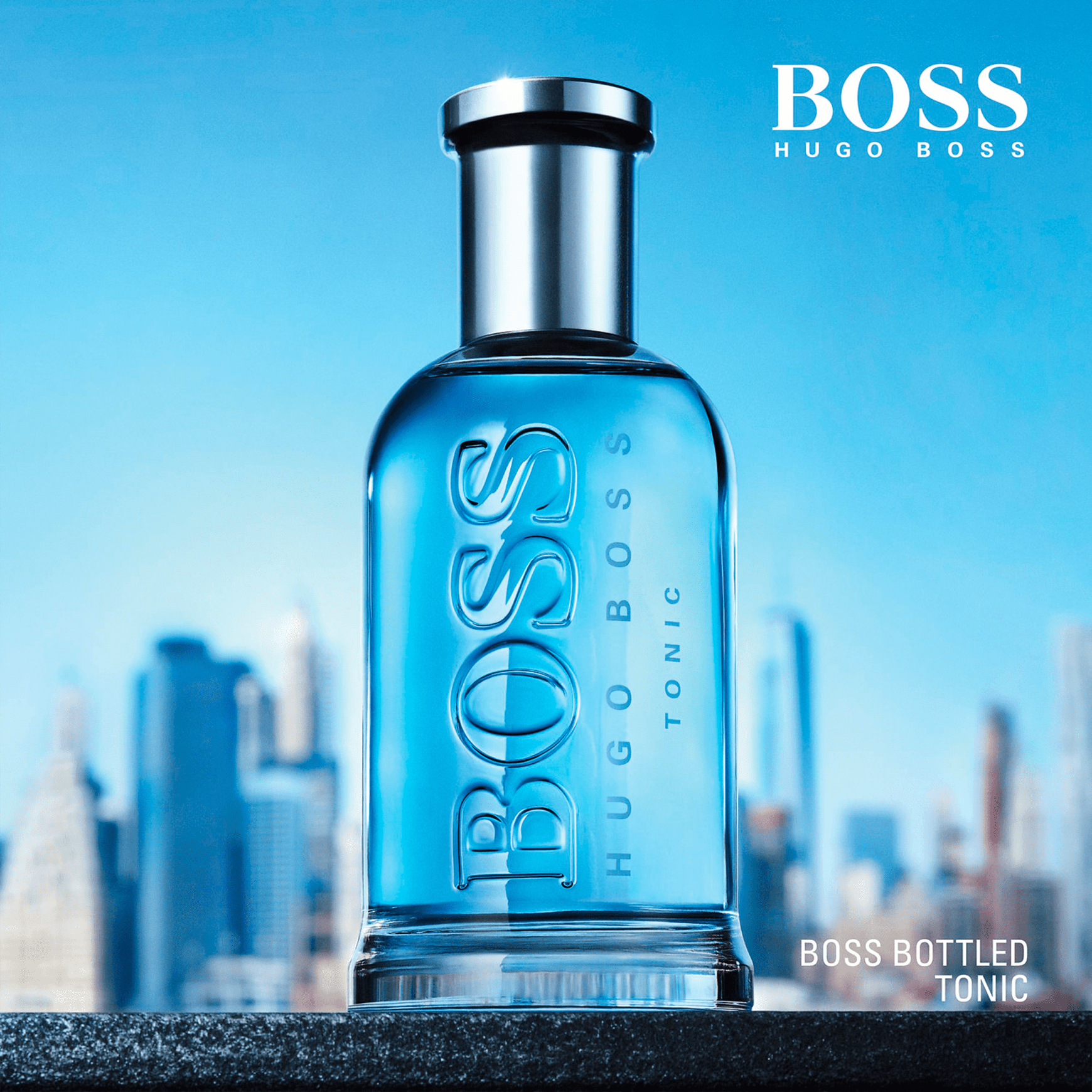f8b68fb91207e Boss Bottled Tonic Hugo Boss Eau de Toilette - Perfume Masculino 50ml