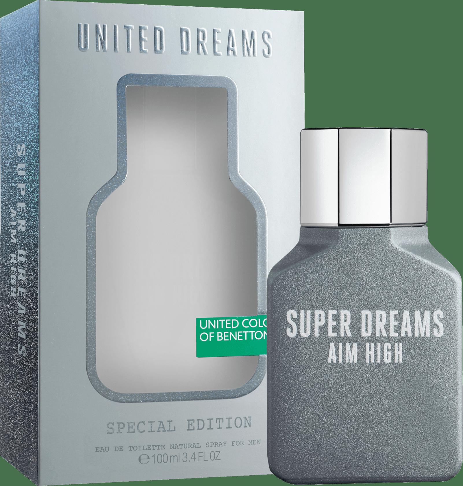 7953a371e United Dreams Super Dreams Aim High Edição Limitada Benetton Eau de Toilette  - Perfume Masculino 100ml