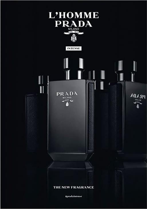 5d7a66eaadf85 L Homme Intense Prada Eau de Parfum - Perfume Masculino 50ml