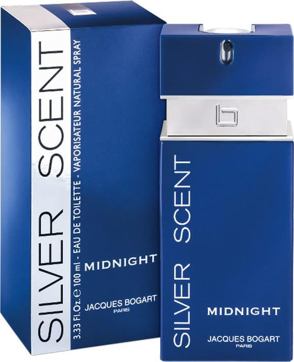 89cdcc055 Silver Scent Midnight Jacques Bogart Eau de Toilette - Perfume Masculino  100ml