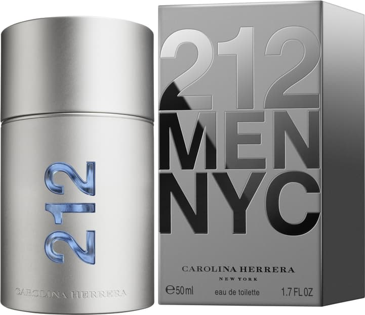 33104a3ac 212 Men Carolina Herrera Eau de Toilette - Perfume Masculino 50ml