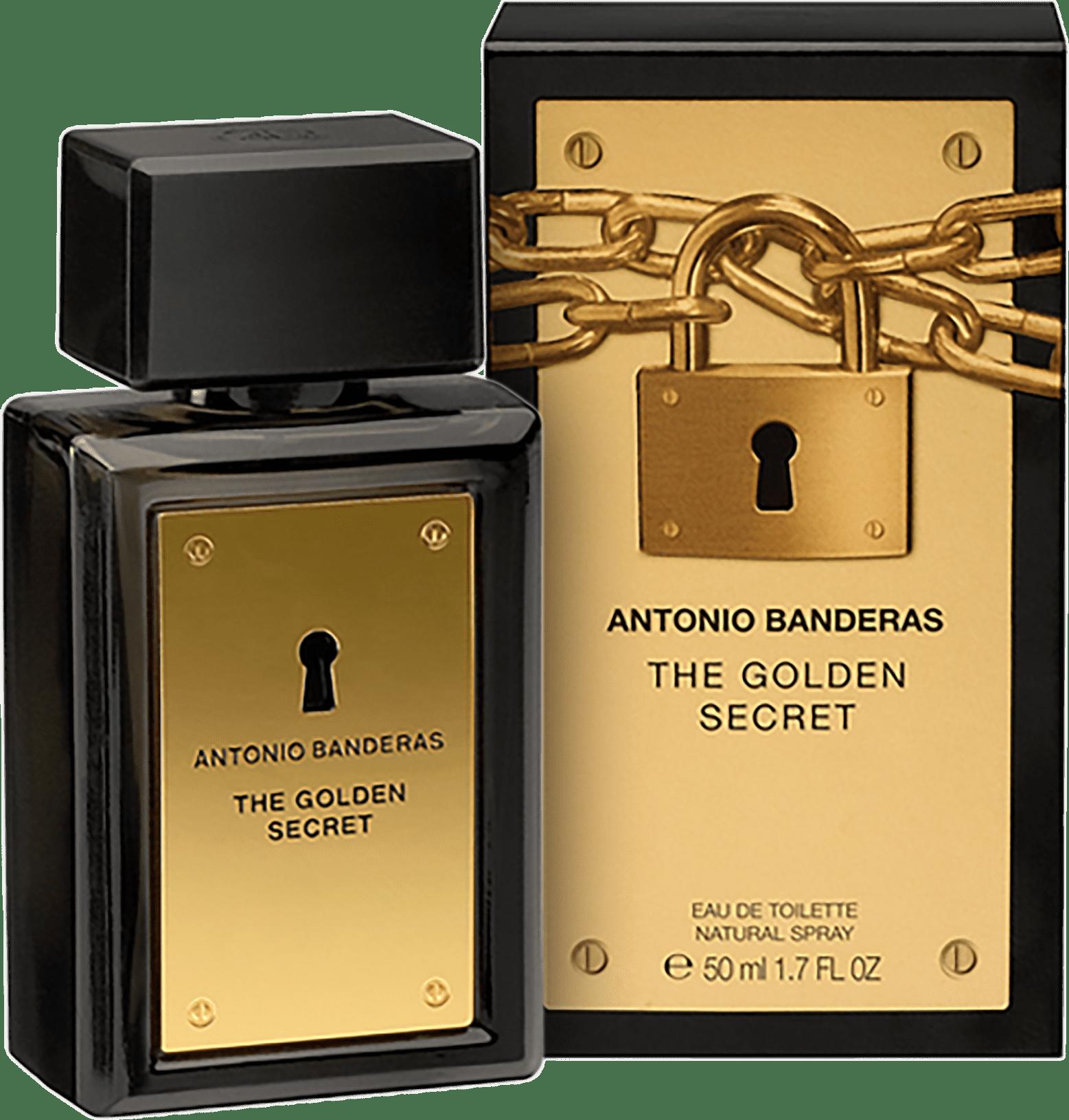 f82f5c04b The Golden Secret Antonio Banderas Eau de Toilette - Perfume Masculino 50ml