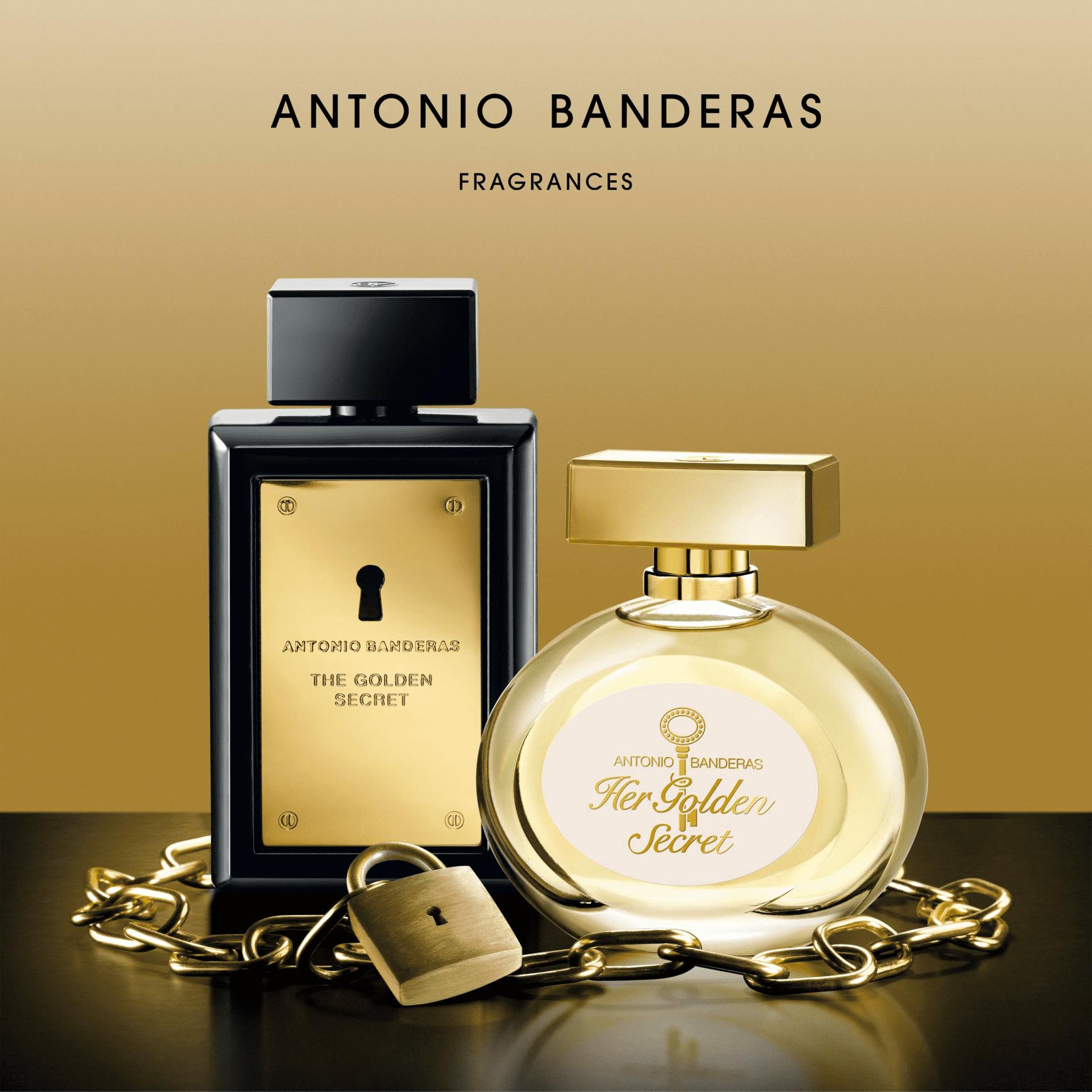 4d1fa7f0e6 The Golden Secret Antonio Banderas Eau de Toilette - Perfume Masculino 50ml