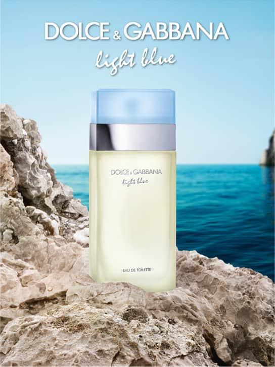 61df9855f Light Blue Dolce   Gabbana Eau de Toilette - Perfume Feminino 100ml