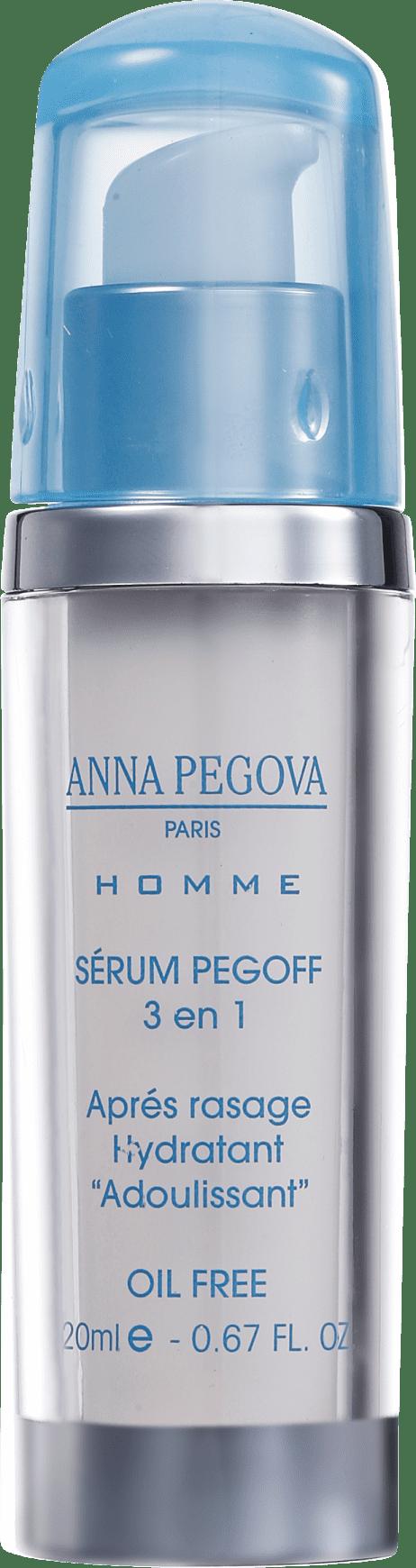 0f7aefc1783c3 Anna Pegova Homme Pegoff 3 En 1 - Sérum Pós-Barba Anti-Idade 20ml