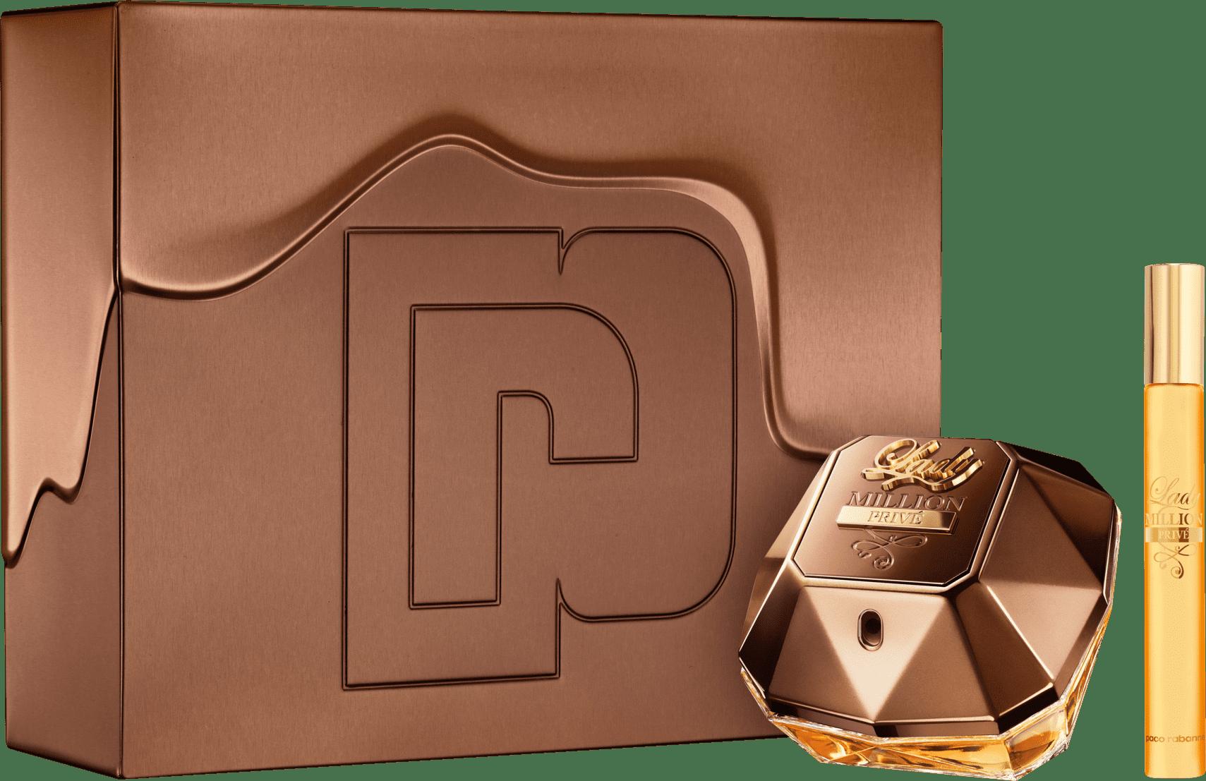 f3ccb4e8fa Conjunto Lady Million Privé Duo Paco Rabanne Feminino - Eau de Parfum 80ml  + Travel Size