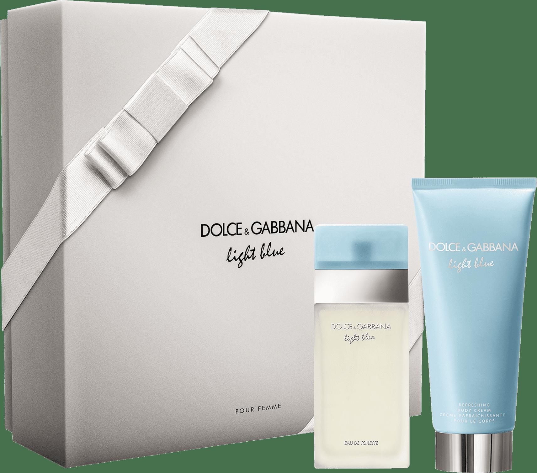 04a2568d5ed98 Conjunto Light Blue Duo Dolce   Gabbana Feminino - Eau de Toilette 50ml +  Creme Corporal