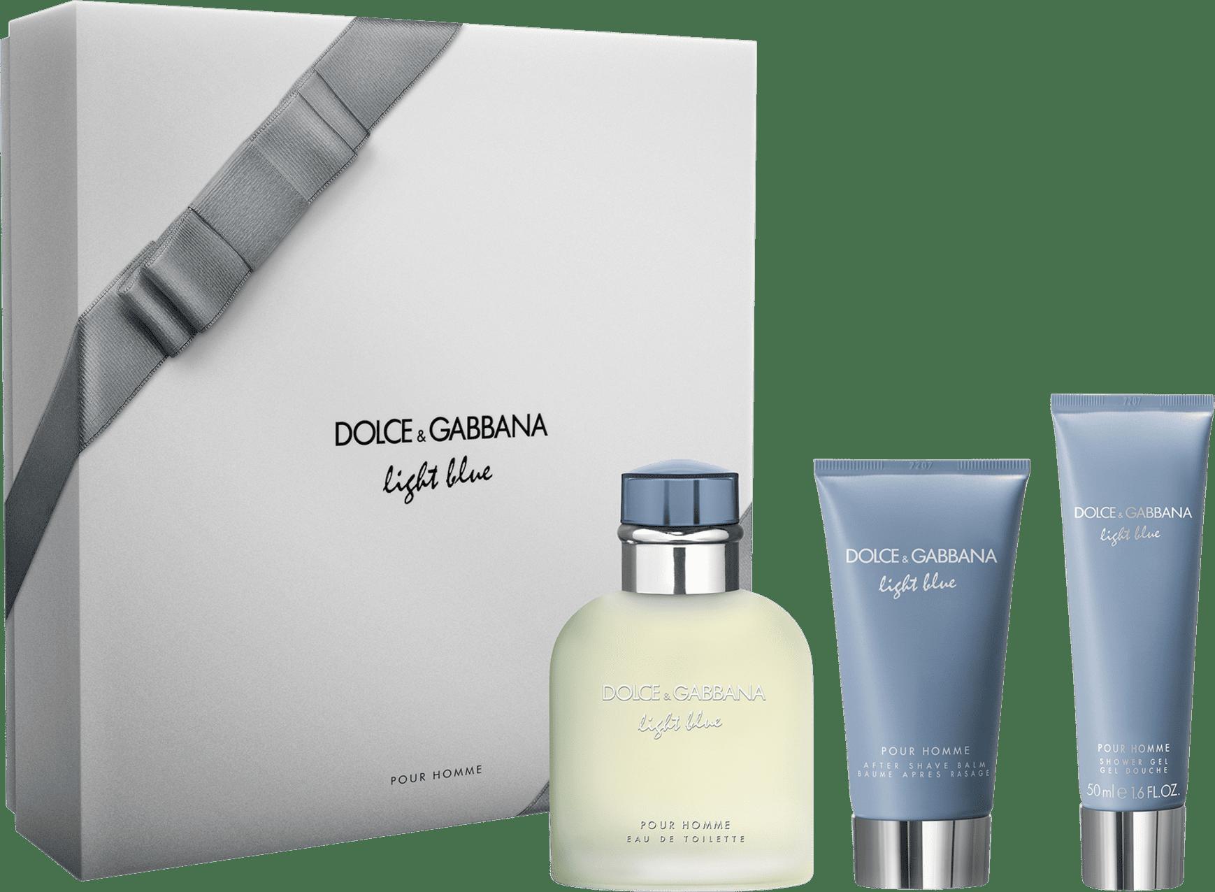 cce205cccf0f7 Conjunto Light Blue Pour Homme Dolce   Gabbana Masculino - Eau de Toilette  125ml + Gel